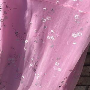 Pimkie Dresses - Vintage Pimkie Pink Floral Slip Dress